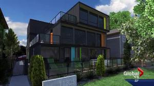 Edmonton approves container home housing unit