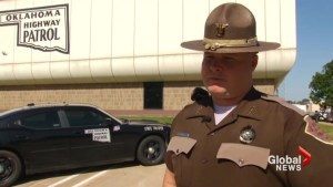 Oklahoma cop describes police chase that ended up on airport runway