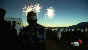 Too dry for the Celebration of Light?