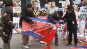Angry anti-North Korea protesters take to the streets in Seoul