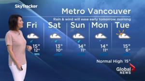 BC Evening Weather Forecast: Oct 6