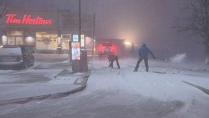 Winnipeg hit with winter storm