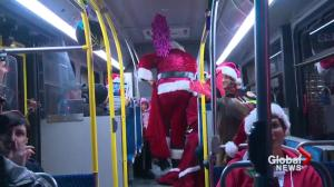 Edmonton kids spending Christmas in hospital take a ride along Candy Cane Lane