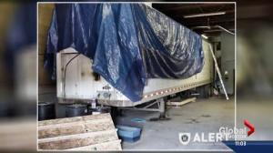 'Grow-op on wheels' discovered in Alberta