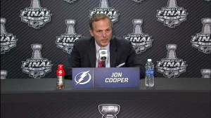 Cooper laments Stanley Cup loss, says team is crushed