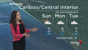BC Evening Weather Forecast: Mar 25