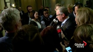 Saskatchewan voters give Brad Wall third mandate