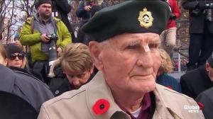 The many emotions of Remembrance Day as seen in the faces of Canadians
