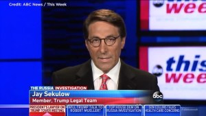 Donald Trump's lawyer Sekulow comments on Trump Jr.'s meeting with Russian Officials
