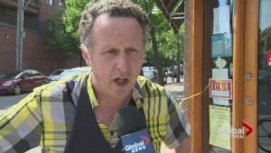 Laurier merchants protest parking permits