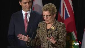 Wynne, Trudeau discuss Canadian energy strategy