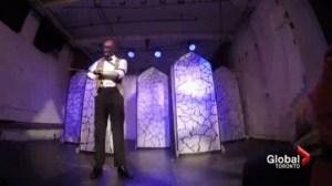 Toronto burn survivor takes to the stage despite all odds