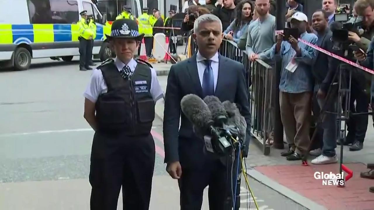 Van strikes as many as 6 people on London Bridge
