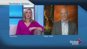 J.K. Simmons on sharing big screen with 'The Terminator'
