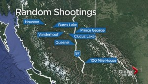 RCMP investigate shots fired at moving vehicles along Highway 97