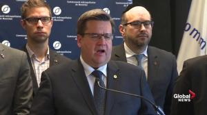 Mayor Coderre says opposition to pipeline goes beyond environmental, economic concerns
