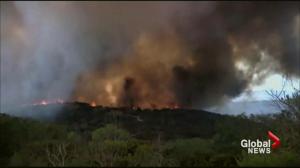 Wildfires rage in Washington state