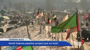 North Dakota pipeline project halted