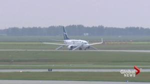Third threat against Canadian flight in a week