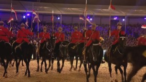 RCMP highlight lavish party for Queen's 90th birthday