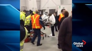 Flight AC 624 passenger captures cellphone video after crash landing