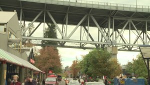 Repairs underway on Granville Street Bridge
