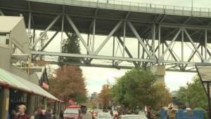 Repairs underway on Granville Street Bridge