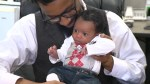 911 operator meets baby she helped deliver