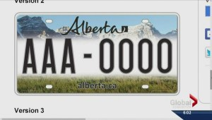 Albertans pick a new licence plate