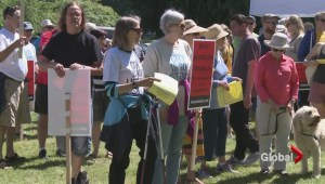 Rally in Kitsilano against city spending