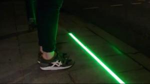 Dutch town has bright idea to help texting walkers