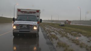 Calgary dealing with flooding and collisions due to heavy rain