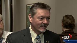 Doug Horner resigning