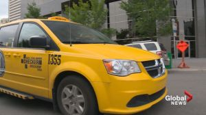 Man charged with assault after slapping Calgary cab driver, ripping out camera