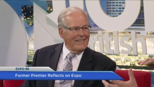 Former premier Bill Vander Zalm reflects on Expo 86