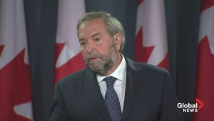 Mulcair wants national inquiry into missing and murdered aboriginal women