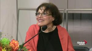 Homa Hoodfar disappointed to have missed Montreal summer, geraniums
