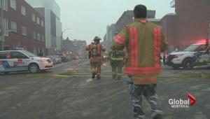 Five-alarm fire on Plateau-Mont-Royal