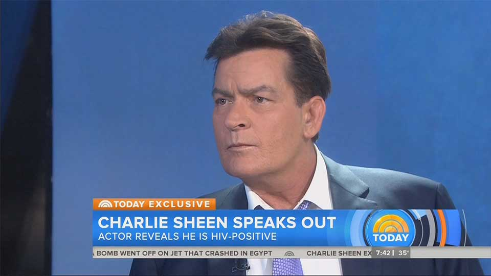 In a Surprise Move, Charlie Sheen May Have Actually Saved Lives