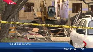 'We just dug until we found him': Man killed in Edmonton trench collapse