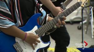 After school rock band camp targets at-risk youth in Edmonton