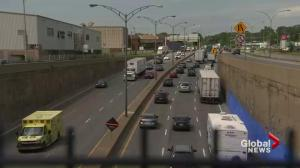 Overnight closures on Montreal's Highway 20