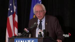 Bernie Sanders says stopping Trump is the top priority for him and the Democratic party