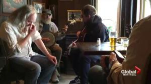 Liam Gallagher plays surprise show at McKibbin's Irish Pub