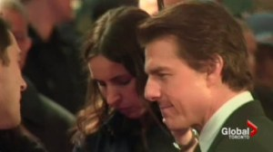 A special guest in Toronto for a the premiere of Edge of Tomorrow