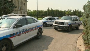 One man in custody after physical altercation at the Sask. Legislative Building
