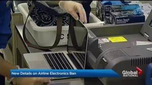Electronics ban on flights after bomb making advances for terror groups