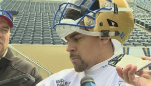 RAW: Blue Bombers running back Andrew Harris on day 1 of mini camp