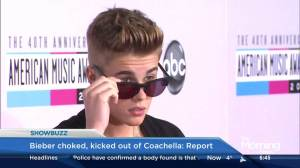 Justin Bieber reportedly choked, kicked out of Coachella