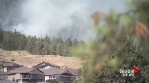 B.C. wildfires beginning to diminish